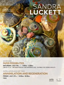 Sandra Luckett Is A Painter And Installation Artist Who Is Also An Associate Professor Of Art At The University Of Central Arkansas